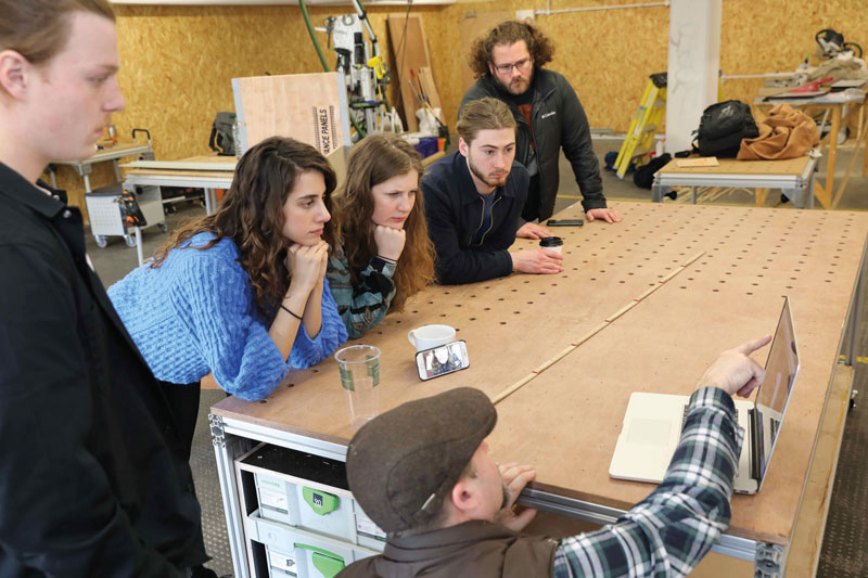 Selin worked with the Civic Makers Craft Space team to raise £20,000 ($25,000)