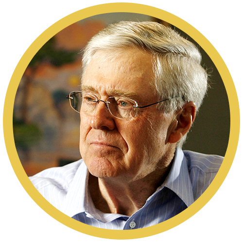 Charles Koch, Koch Industries - Ph: PA