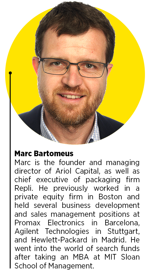 Marc Bartomeus, founder and managing director of Ariol Capita