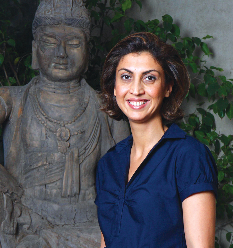 Could Tanya Godrej become the first woman to lead a large family-business conglomerate in India?