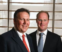 Lord Fink (left) and David Johnstone