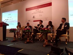 Building Tomorrow's Business Leaders panel at the Asia-Pacific Family Office Conference 2017