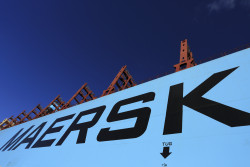 Maersk operates in 130 countries and employs 70,000 people.