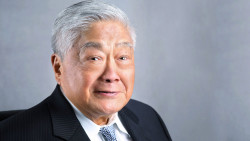 John Gokongwei Jr, the late founder and chairman emeritus of JG Summit Holdings