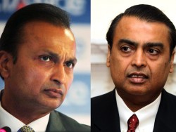 A reunion between Mukesh (right) and Anil Ambani is unlikely to happen, says expert ©Press Association