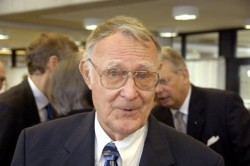 Ikea founder Ingvar Kamprad is stepping down from all his formal roles in the business